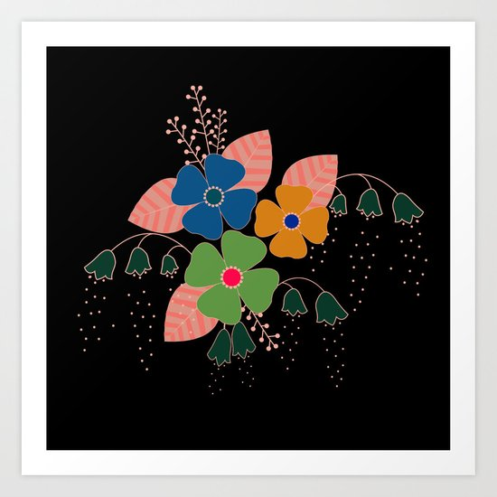 flower..9 Art Print