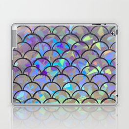 Luminous Mermaid Scales Laptop & iPad Skin