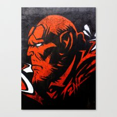 Hell Boy Canvas Print