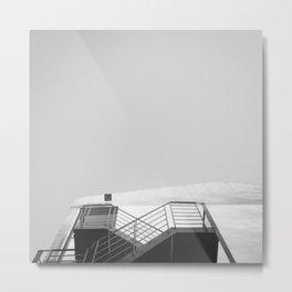 #305 Heart staircase Metal Print