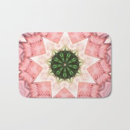 Mandala Star Bath Mat