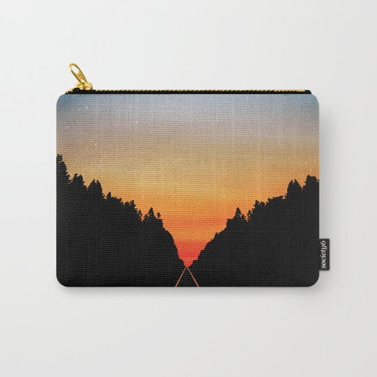 Keep Walking Don't Stop Carry-All Pouch