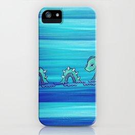 Ol Nessy iPhone Case