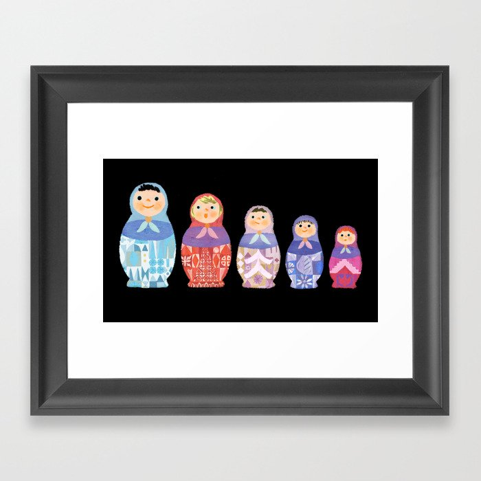 Small, Smaller, Smallest Framed Art Print by sirdiddymus | Society6