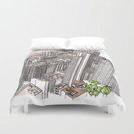 New York View Duvet Cover