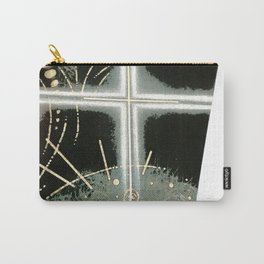 Faith and Trust in Self . Green Carry-All Pouch