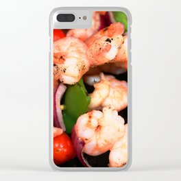 Shrimp on the Barbie Clear iPhone Case