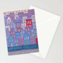 Pretty City II Stationery Cards