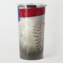 Baseball - New York, New York Travel Mug