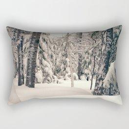 Winter Woods 2 Rectangular Pillow