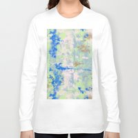tie dye Long Sleeve T-shirts featuring Tie Dye by Wendy Ding: Illustration