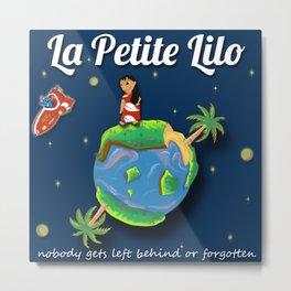 La Petite Lilo Metal Print