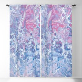 abstract background texture Blackout Curtain