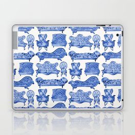 Victorian Lounge – Navy Palette Laptop & iPad Skin