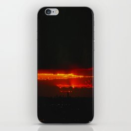 There's a Feeling I Get When I Look to the West #3 (Chicago Sunrise/Sunset Collection) iPhone Skin