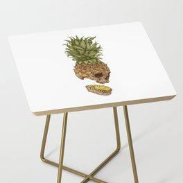 Pineapple Skull Side Table