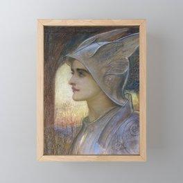 William Blake Richmond - St Joan Of Arc Framed Mini Art Print
