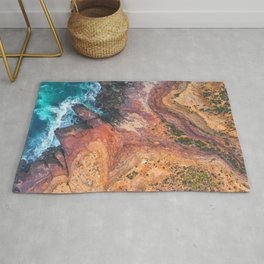 Red Bluff National Park - Kalbarri - Western Australia Rug