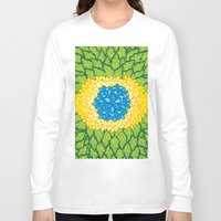 brasil Long Sleeve T-shirts featuring Brasil Estampa by Henrique Abreu