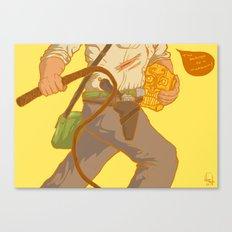 Golden Idol Canvas Print