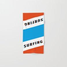 SURFING 3D - Square Hand & Bath Towel