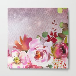 Flowers bouquet 92 Metal Print