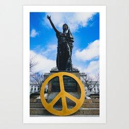 Peace Forward Art Print