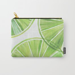 Fresh Lime ~ Summer Citrus Carry-All Pouch