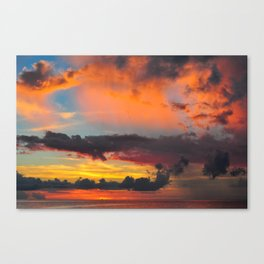 Okinawa Sunset III Canvas Print