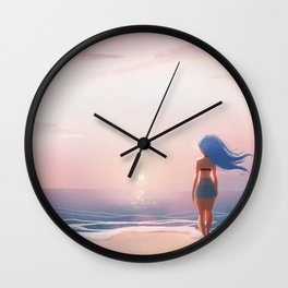 Where I'd Rather Be Wall Clock