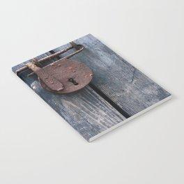 Padlock III Notebook