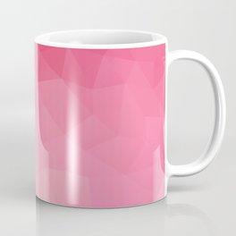 """Strawberry smoothie"" geometric design Coffee Mug"