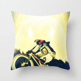 jdm bmx Throw Pillow