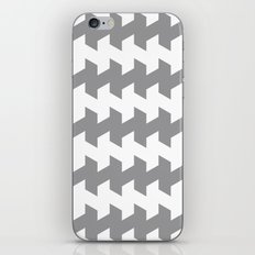 jaggered and staggered in alloy iPhone & iPod Skin