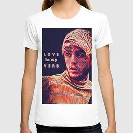 Painted Faces Bleeding Masks (L O V E is my V E R B) T-shirt