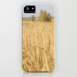 The Russian field iPhone Case