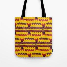 Ethnic diamond Tote Bag
