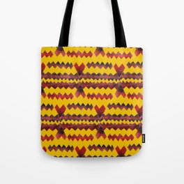 Ethnic diamond Tote Bag