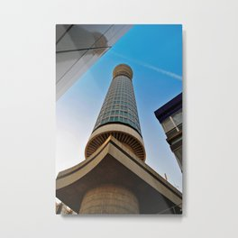 BT Post Office Tower Fitzrovia London England Metal Print