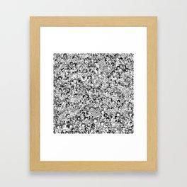 Ahegao Framed Art Print
