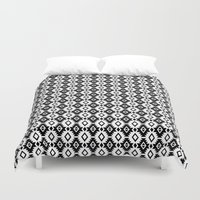 indie Duvet Covers featuring Indie by Priscila Peress