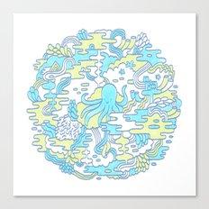 Ocean Zone Canvas Print