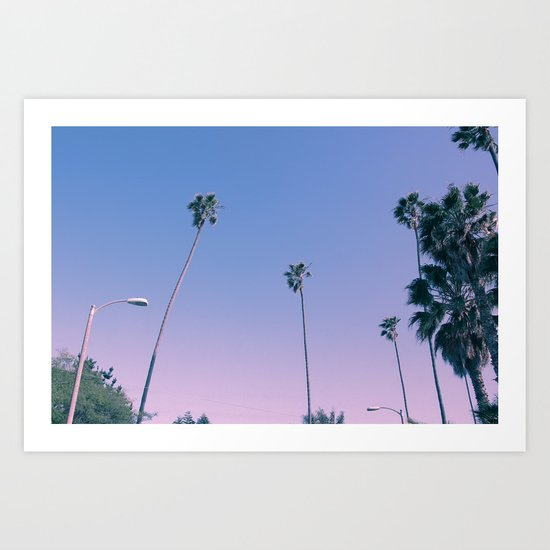 ..And then I moved to Los Angeles Art Print