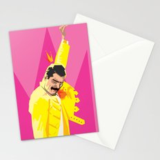 Freddie from Queen comic book cover swag! Mercury Stationery Cards