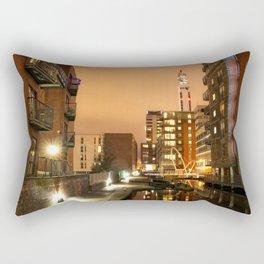 Birmingham and Fazeley Canal At Fleet Street Rectangular Pillow