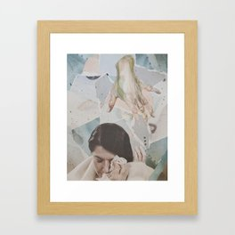 Composition II: Don't cry Marina Framed Art Print