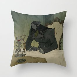 The Host Throw Pillow