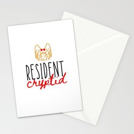 Resident Cryptid 2 Stationery Cards