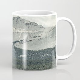 Rocky Mountain Snow Dusting Coffee Mug