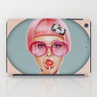 hair iPad Cases featuring Cool Redux by Giulio Rossi